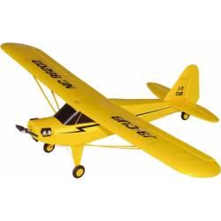 Radiosistemi Aeromodello Piper J3 CUB elettrico Brushless versione RTF 950mm (art. JW6202)