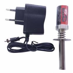 Radiosistemi Accendi candela con batteria Ni-Mh 1800mAh e carica batteria 220V (art. BB80101PRP)