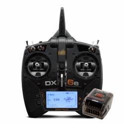 Spektrum Radiocomando DX6e DSMX 6 Canali con ricevente AR620 (art. SPM6655EU)