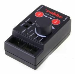 Robbe Programmatore Servo Tester V2 ingresso 4,8-8,4V HV (art. 8261)