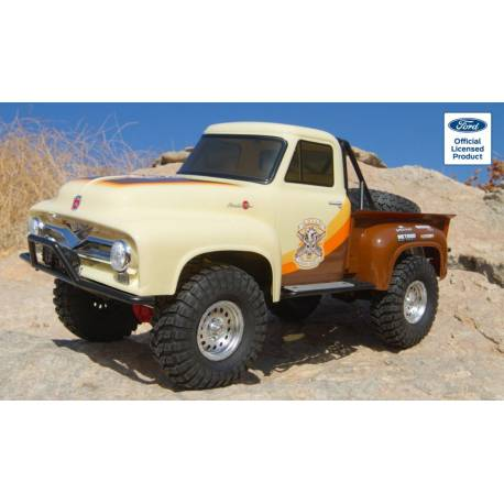 Axial SCX10 II Ford F-100 Truck Rock Crawler Brown versione RTR senza batterie (art. AXI03001T1)