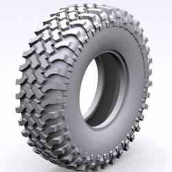 """RC4WD Coppia gomme Mud Thrashers 1.9"""" Scale Tires Advanced X3 Compound (art. RC4WD-Z-T0051)"""
