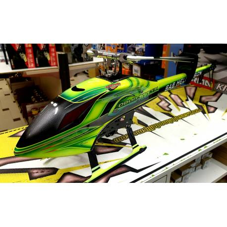 Occasione SAB Goblin 700 Flybarless Electric Helicopter completo senza radio e batterie