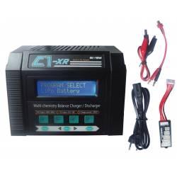 Radiosistemi Caricabatterie C1-XR Lipo 1-6S 100W 12-220V con 10 Memorie (art. KRCA0004)