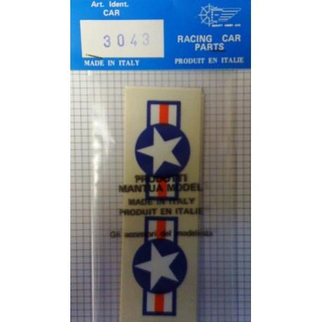 Mantua Model Stella USA 45mm 2 pezzi (art. 3043)