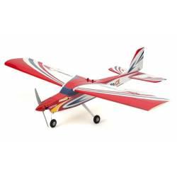 Kyosho Aeromodello Calmato Alpha 40 Trainer Toughlon solo modello EP/GP Rosso (art. 11252RB)
