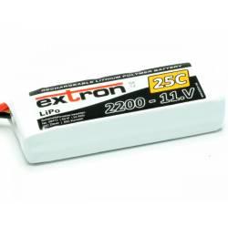 Extron Batteria Li-po X2 11,1V 2200mAh 25-50C connettore XT60 (art. X6413)