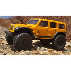 Axial SCX24 2019 Jeep Wrangler JLU CRC Rock Crawler 1/24 4WD RTR Giallo (art. AXI00002T2)