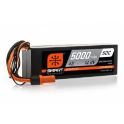 Spektrum Batteria Li-Po 4S 14,8V 5000mAh 50C Smart Hardcase con IC5 (art. SPMX50004S50H5)