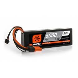 Spektrum Batteria Li-Po 2S 7,4V 5000mAh 50C Smart Hardcase con IC3 (art. SPMX50002S50H3)