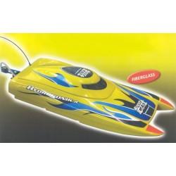 Hydrosonik Motoscafo Racer Cat con motore Glow Axe 3,5cc