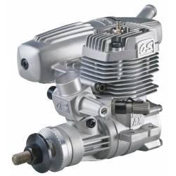 O.S. Engines Motore Max 35AX con silenziatore 13100 (art. OS1511)