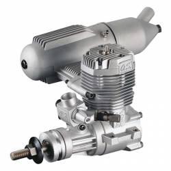 O.S. Engines Motore Max 65FX con silenziatore 16521 (art. OS1514)