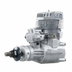 O.S. Engines Motore Max 75AX con silenziatore (art. OS1530)