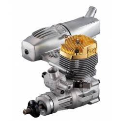 O.S. Engines Motore Max 55AX-GP GOLD EDITION con silenziatore (art. OS1543G)