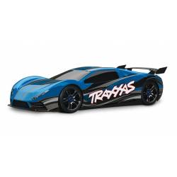 Traxxas Automodello XO-1 AWD Supercar con sistema TSM colore Blu (art. TXX64077-3)