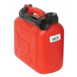 Tanica in plastica capacità 5 litri per carburante (art. CDMTA5)