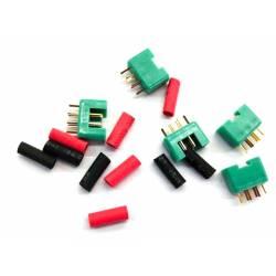 Maxpro Connettore Multiplex Maschio 5 pezzi con termoretraibile (art. MAXCP22M)