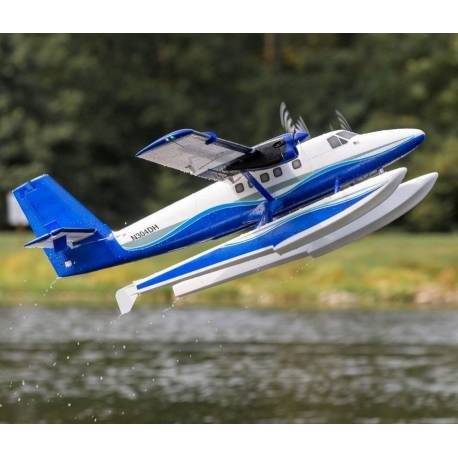 E-flite Twin Otter 1.2m versione BNF Basic con AS3X e SAFE galleggianti inclusi (art. EFL30050)