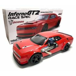 Kyosho Automodello Inferno GT2 Dodge Challenger Readyset 1/8 GT RTR motore Picco (art. 33008RXL)