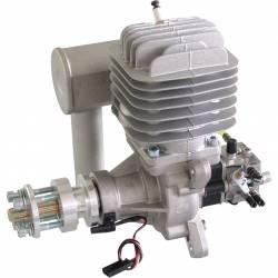 DLE Engine Motore DLE-55cc a Benzina 2T con Accensione e Marmitta (art. DL55)