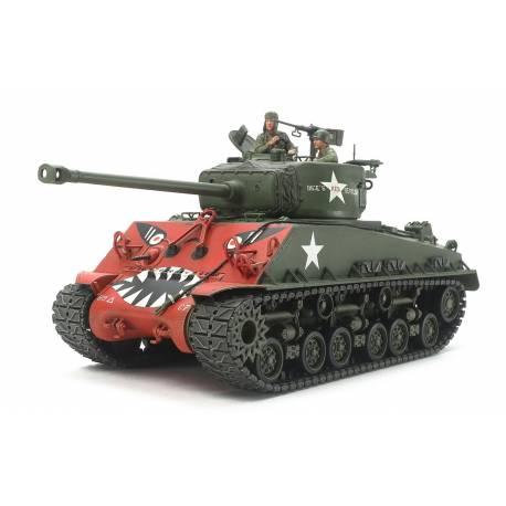 "Tamiya Carro armato US Sherman M4A3E8 ""Easy Eight"" Korean War scala 1/35 kit di montaggio (art. TA35359)"