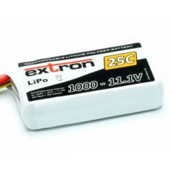 Extron Batteria Li-po X2 11,1V 1000mAh 25-50C connettore XT60 (art. X6407)