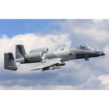 E-flite A-10 Thunderbolt II Twin Jet 64mm EDF BNF Basic con AS3X e SAFE Select (art. EFL01150)