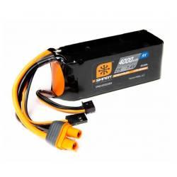Spektrum Batteria ricevitore LiPo Smart 7,4V 4000mAh 2S 15C connettore IC3 (art. SPMX40002SRX)