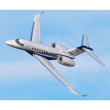 E-flite UMX Citation Longitude Twin Jet 30mm EDF versione BNF Basic con SAFE Select (art. EFLU6350)