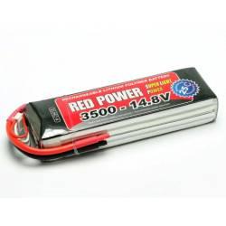 Pichler Batteria Li-po 14,8V 3500mAh RED POWER SLP 25C (art. C9418)