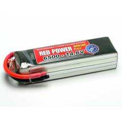 Pichler Batteria Li-po 14,8V 6500mAh RED POWER SLP 25C (art. C9431)