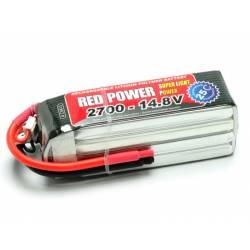Pichler Batteria Li-po 14,8V 2700mAh RED POWER SLP 25C (art. C9413)