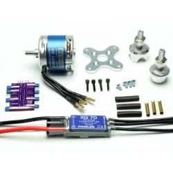 Pichler Set motorizzazione brushless BOOST 50 Combo con ESC e scheda programmazione (art. C3173)