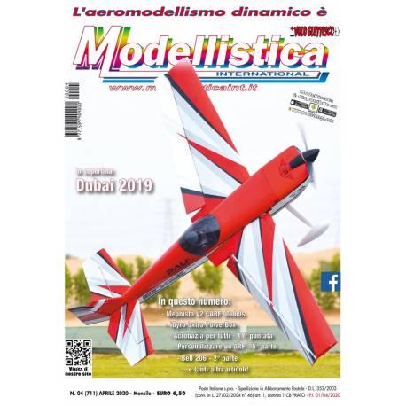 Modellistica Rivista di modellismo n°04 Aprile 2020