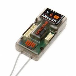 Spektrum Ricevente AR6610T DSMX 6 canali 2,4Ghz con telemetria (art. SPMAR6610T)