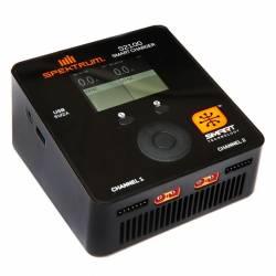 Spektrum Carica batteria doppio Smart S2100 AC 220V per Li-Po 6S 2x100W (art. SPMXC1010I)