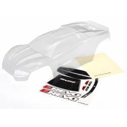 Traxxas Carrozzeria trasparente per E-Revo Brushless 2.0 con adesivi e mascherature (art. TXX8611)