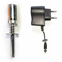 Siva Accendi candela con batteria 1800mAh e caricabatteria incluso (art. 90044)