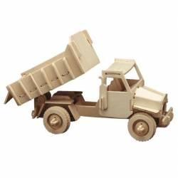 Siva Camion con cassone ribaltabile in legno da costruire (art. 863/3)