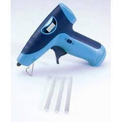 Siva Toys Pistola per colla a caldo a batteria con Led frontale (art. 269ok)