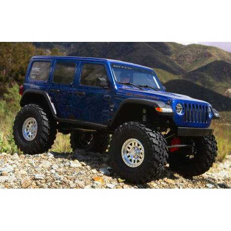 Axial Kit di montaggio SCX10 III Jeep JLU Wrangler with Portals 4WD Buggy (art. AXI03007)