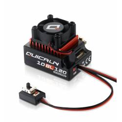 Hobbywing Regolatore QuicRun 10BL120 Brushless ESC 120A Sensored per 1/10 (art. HW30125000)