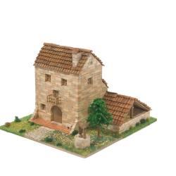 Cuit Casa Rurale in pietra Scala HO dimensioni 26x22x12 kit di montaggio (art. CU3511)