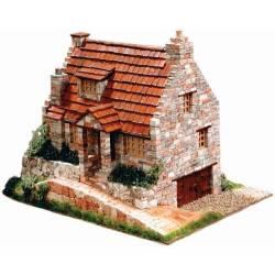 Cuit Casetta vecchio Cottage Scala HO dimensioni 26x22x15 kit di montaggio (art. CU3525)