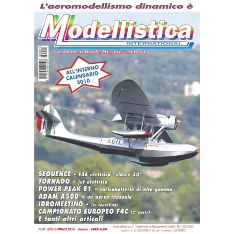 Modellistica Rivista di modellismo n°01 Gennaio 2010