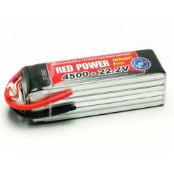 Pichler Batteria Li-po 22,2V 4500mAh RED POWER SLP 25C (art. C9424)