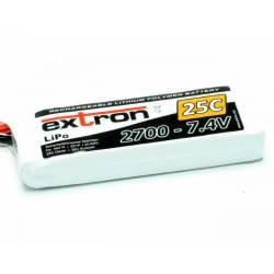 Extron Batteria Li-po X2 7,4V 2700mAh 25-50C connettore XT60 (art. X6415)