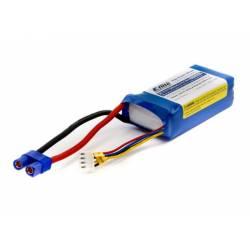 E-flite Batteria Li-Po 3S 11,1V 1300mAh 20C connettore EC3 (art. EFLB13003S20)