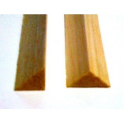 Mantua Model Listello triangolare balsa 10x10mm (art. 86201)